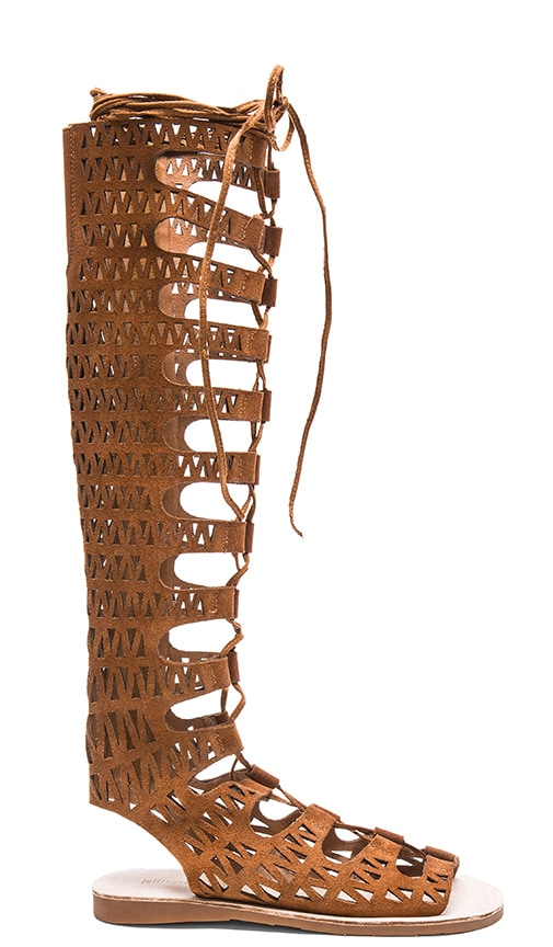 Jeffrey Campbell Atlas Sandal in Brown