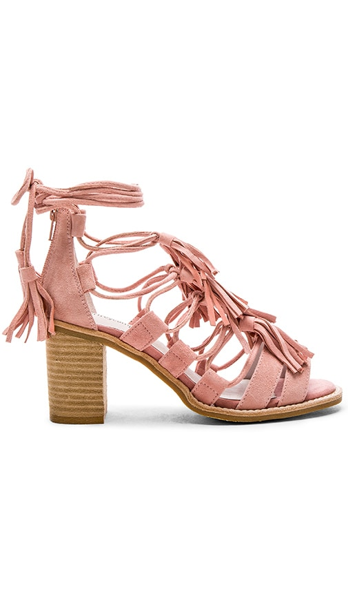 Jeffrey Campbell Linares Sandals in Light Pink Suede