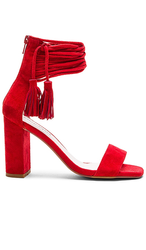 Jeffrey Campbell Formosa Heels in Red Suede