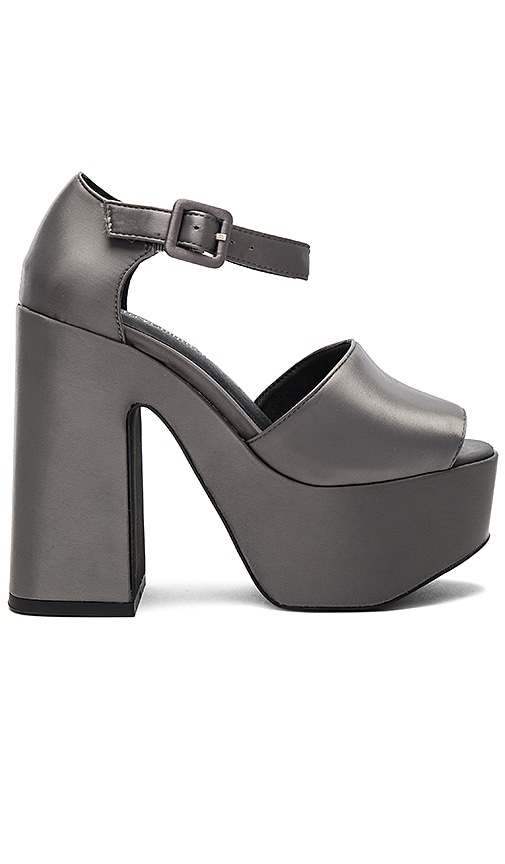 Jeffrey Campbell Candice Heels in Charcoal