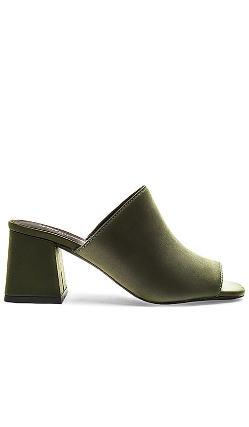 Jeffrey Campbell Perpetua Heels in Dark Green