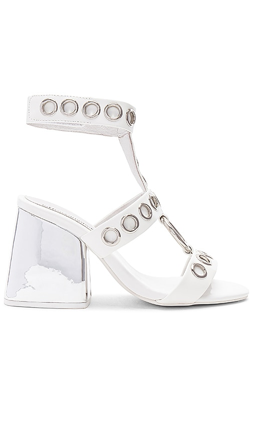 Jeffrey Campbell Bianka Heel in White