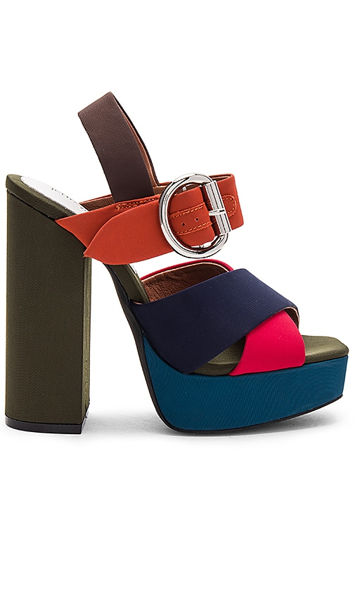 Jeffrey Campbell Elvina Heel in Orange