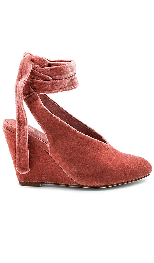 Jeffrey Campbell Verlina Wedge in Rose