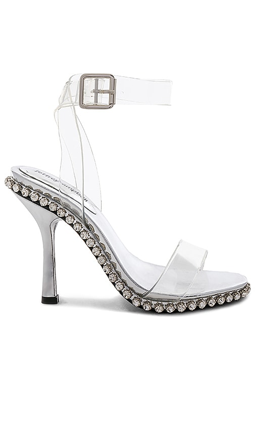 Dylan Heel in White. - size 5.5 (also in 10,6,6.5,7,8,8.5,9) by the way.