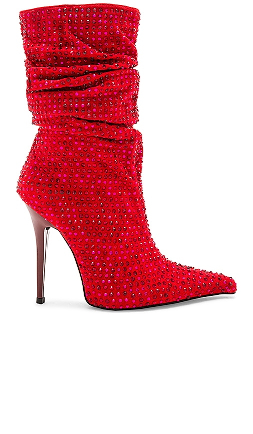 Jeffrey Campbell Cray 4 U Boot in Red
