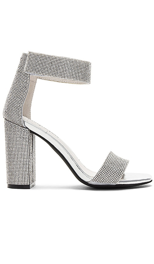Jeffrey Campbell Lindsay Heel in Metallic Silver