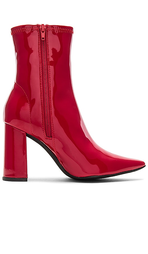 fcdb0ea6da5 Jeffrey Campbell Siren Boot in Red Patent