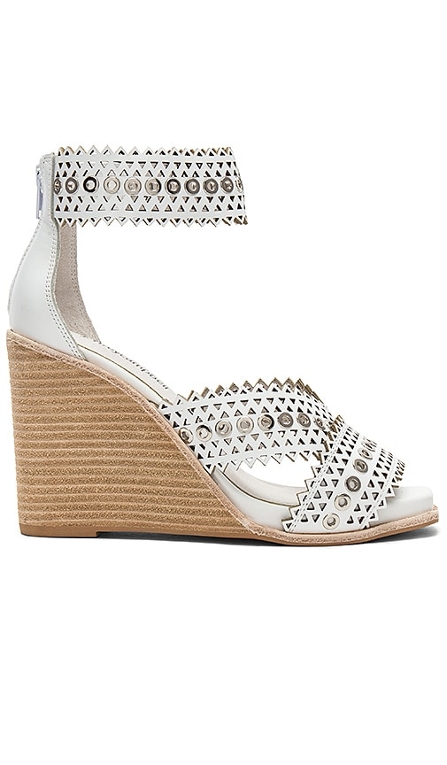 Jeffrey Campbell Besante Sandal in White
