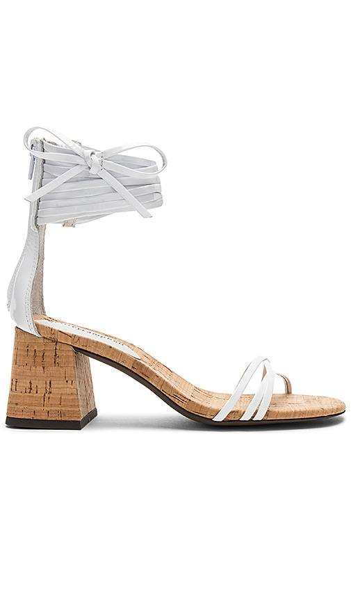 Jeffrey Campbell Everglade Sandal in White
