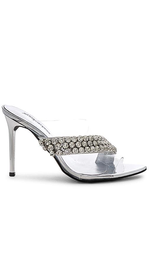 2b9a55cd2f9b Jeffrey Campbell Glam Heel in Silver Mirror