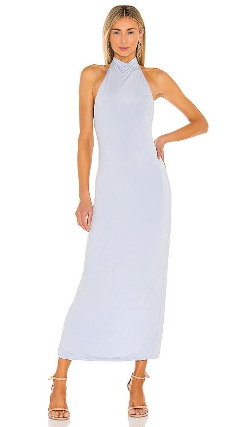 Jonathan Simkhai Standard Raine Midi Dress In Sky