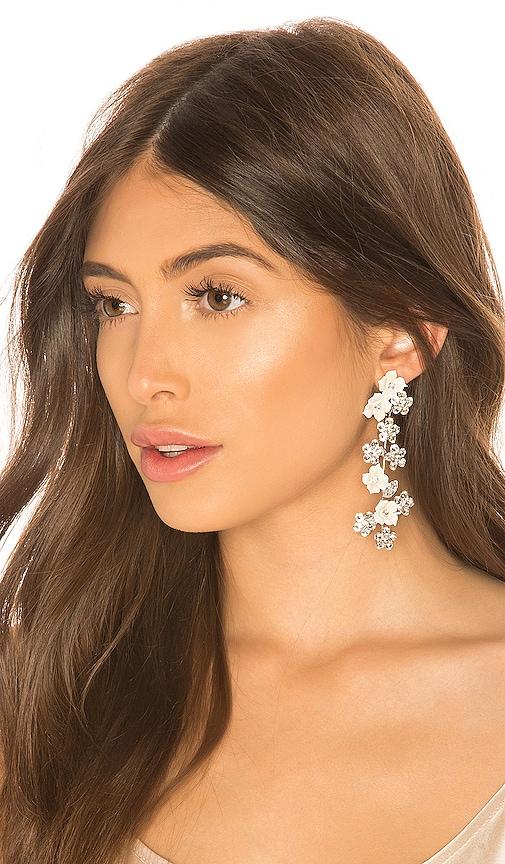 Jennifer Behr Delphine Earring in Silver