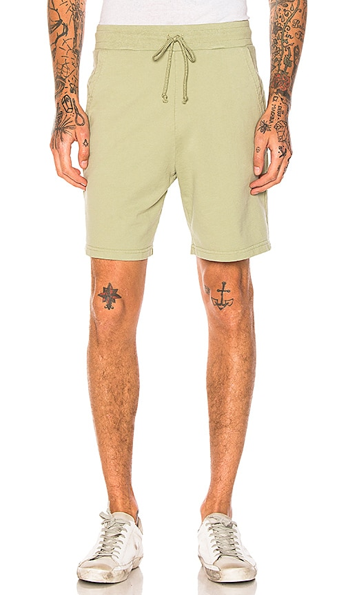 JOHN ELLIOTT Printed Shorts in Green