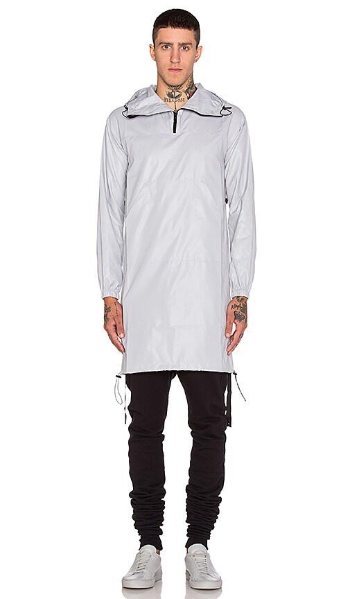 JOHN ELLIOTT Pullover Raincoat in Plaster
