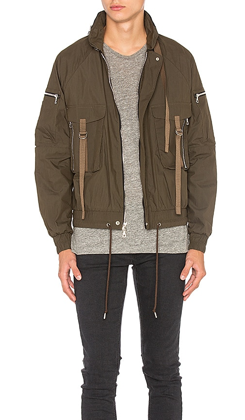 JOHN ELLIOTT SRD Parachute Jacket in Brown