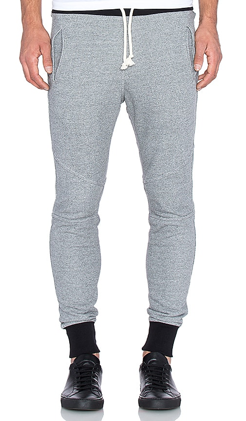JOHN ELLIOTT Escobar Sweatpant in Dark Grey Duo 2