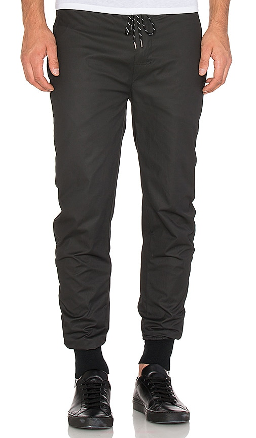 JOHN ELLIOTT Engineered Pant in Black