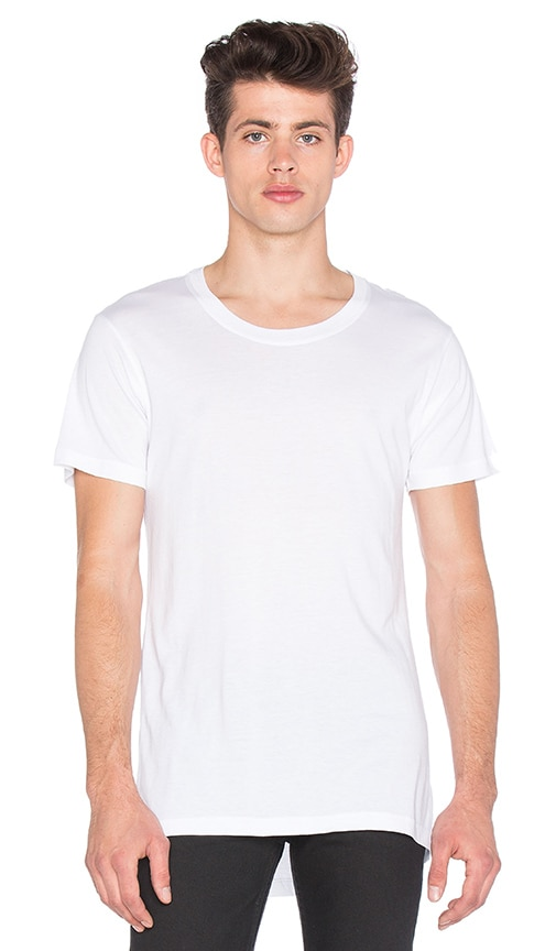 JOHN ELLIOTT Expo Tee in White