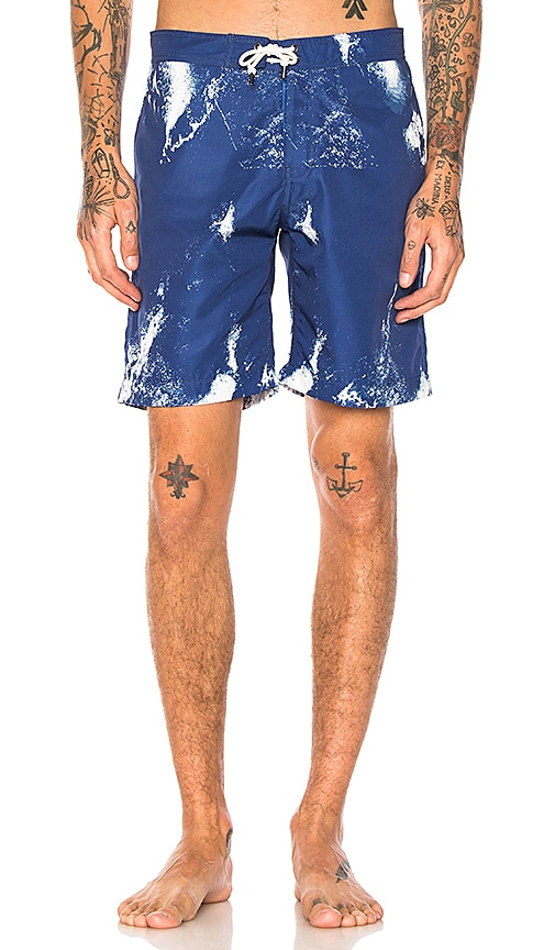 JOHN ELLIOTT Board Shorts in Blue