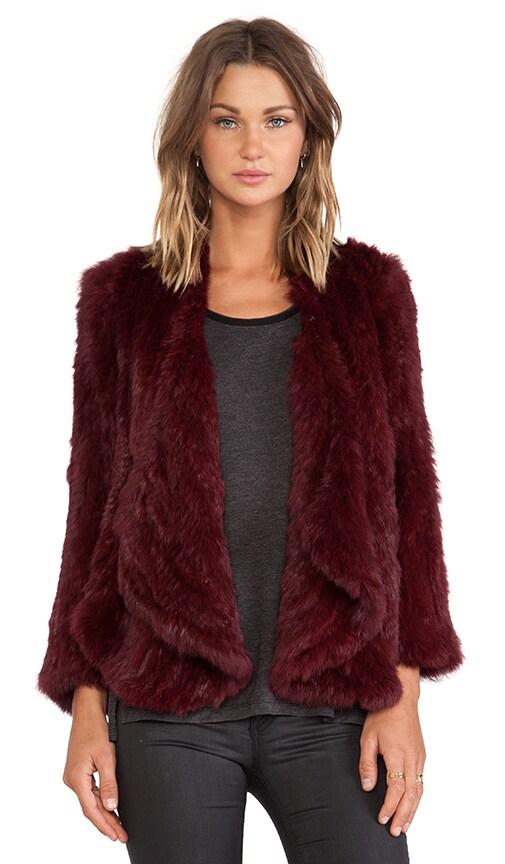 Windmill Rabbit Fur Jacket