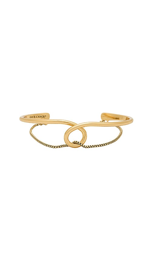 Jenny Bird The Loop Cuff in Metallic Gold
