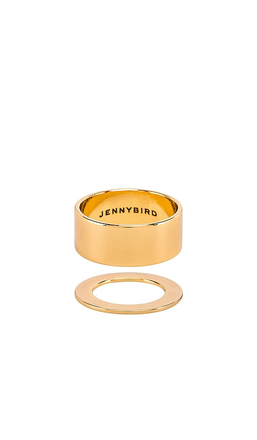 Carmine Ring Set