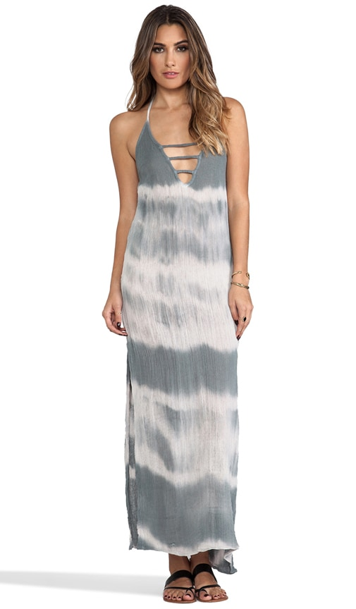Zumirez Long Tie Dye Dress