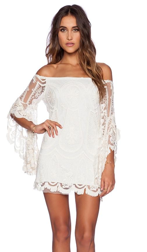 Pixie Bardot Mini Dress