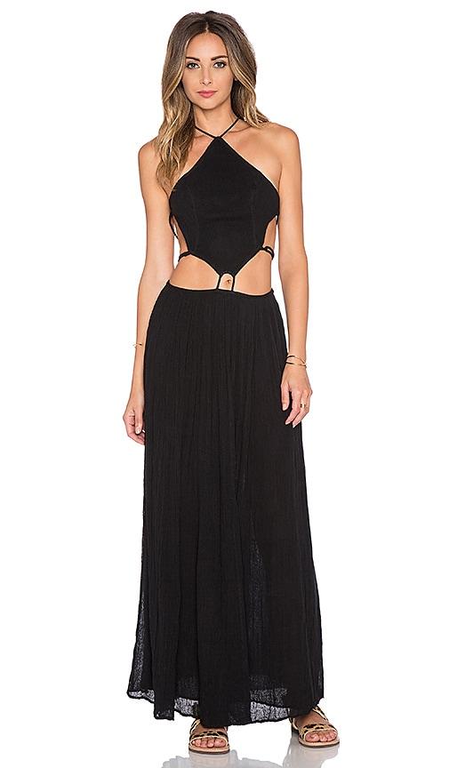 Jen's Pirate Booty Pura Vida Maxi Dress in Black