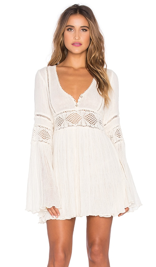 Jen's Pirate Booty Enchanted Babydoll Dress in Ivory