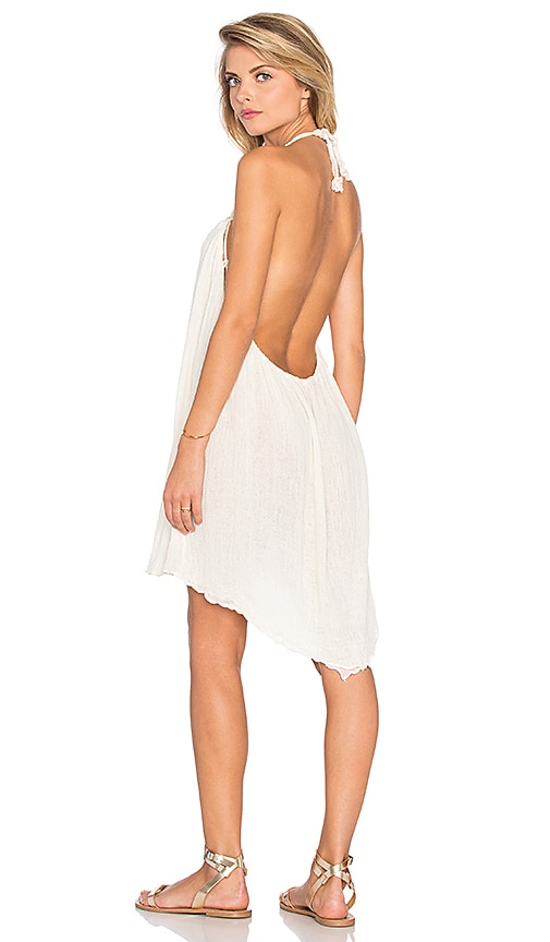 Jen's Pirate Booty Monarch Cover Up Dress in Ivory