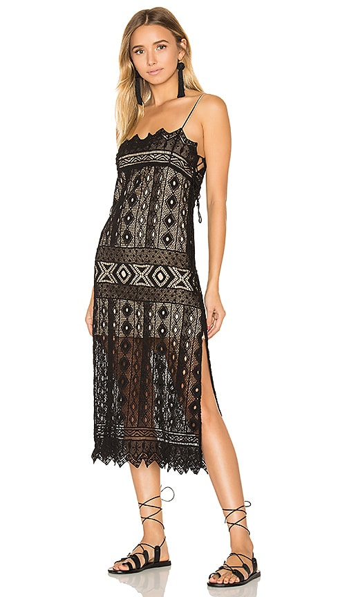 Jen's Pirate Booty Caparra Flapper Dress in Black