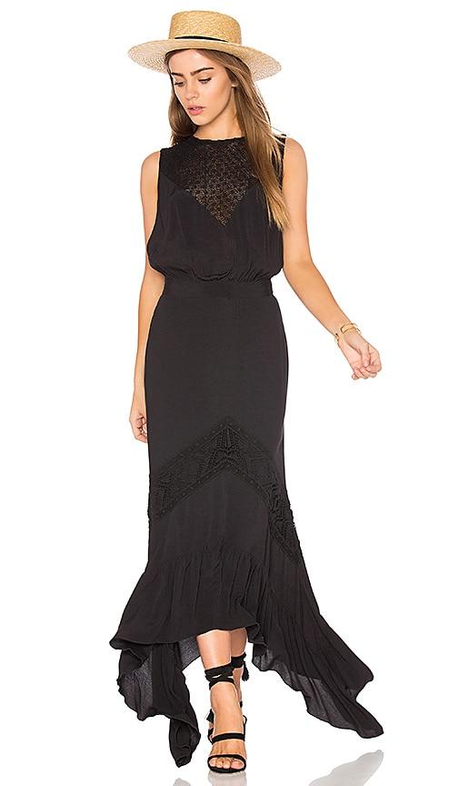 Jen's Pirate Booty Sagrada Rising Sun Dress in Black