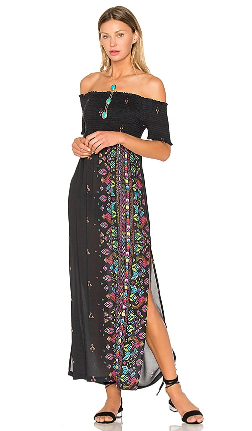 Jen's Pirate Booty Cult Maxi Dress in Black
