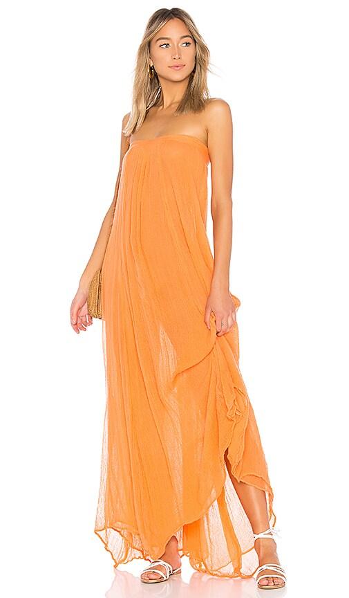 Jen's Pirate Booty Belinda Maxi Dress in Orange