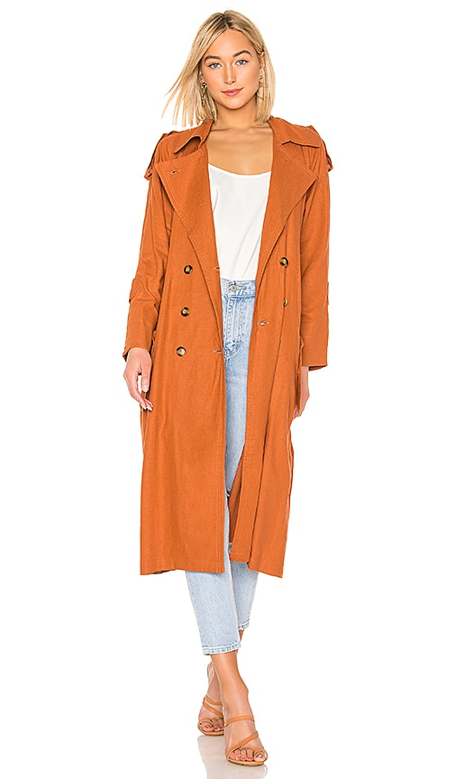 Basic Instinct Trench Coat