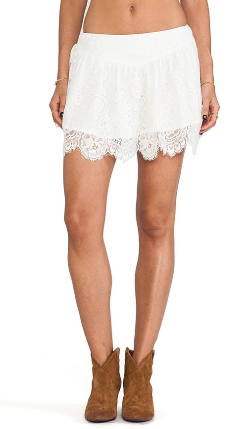 Ethereal Moon Dance Mini Skirt