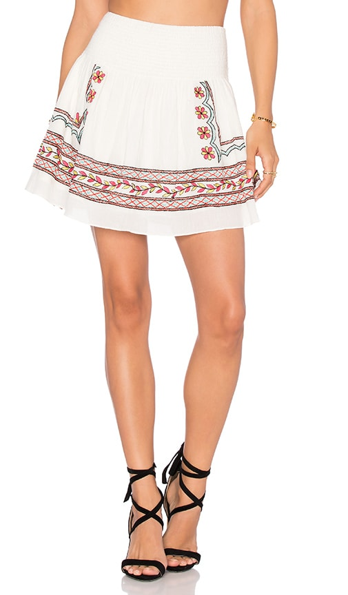 Jen's Pirate Booty Guinevere Mini Skirt in White