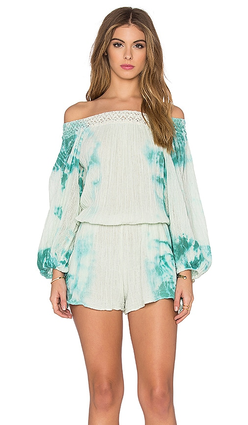 6ce365efa64 Jen s Pirate Booty Sunkissed Romper in Aloe   Teal HED