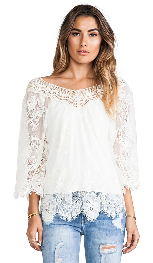 Ethereal Mayflower Top