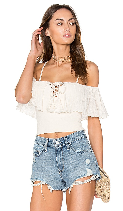 Jen's Pirate Booty Copal Top in ivory