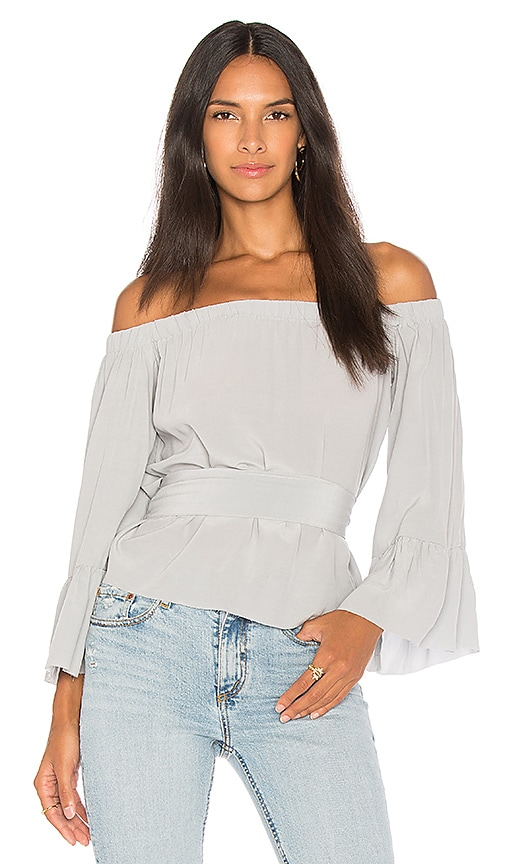 Jen's Pirate Booty Soiree Icon Top in Gray