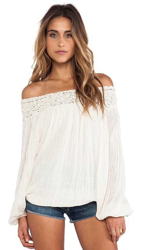 Paradise Cove Off Shoulder Top