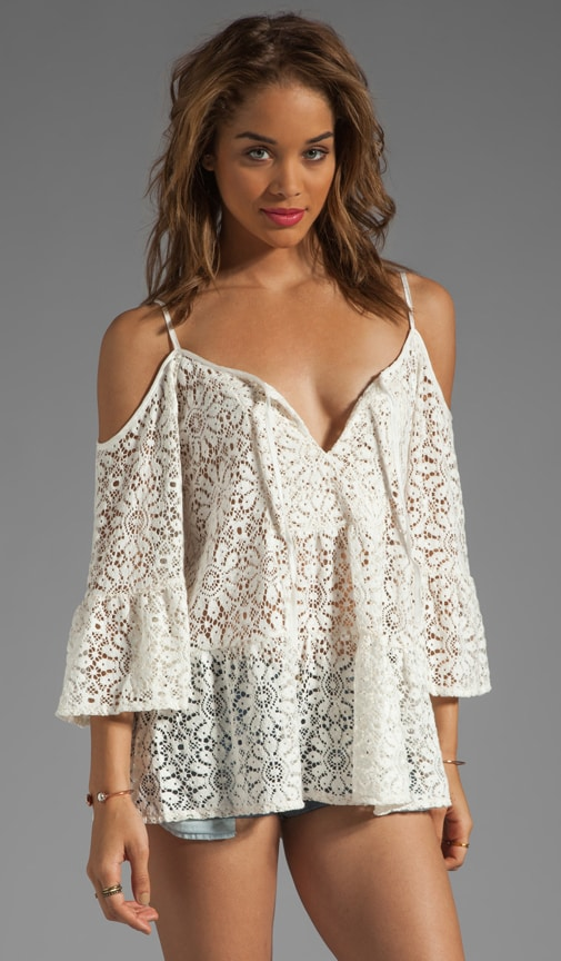 French Lace El Matador Top