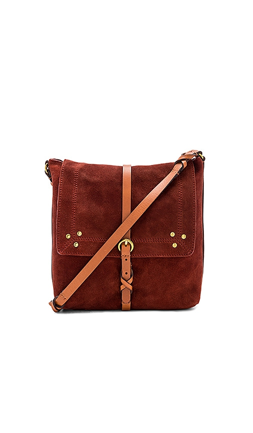 Jerome Dreyfuss Tony Bag in Rust