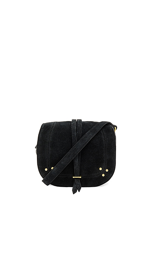 Jerome Dreyfuss Victor Saddle Bag in Black