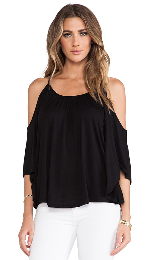 Nick Open Shoulder Top