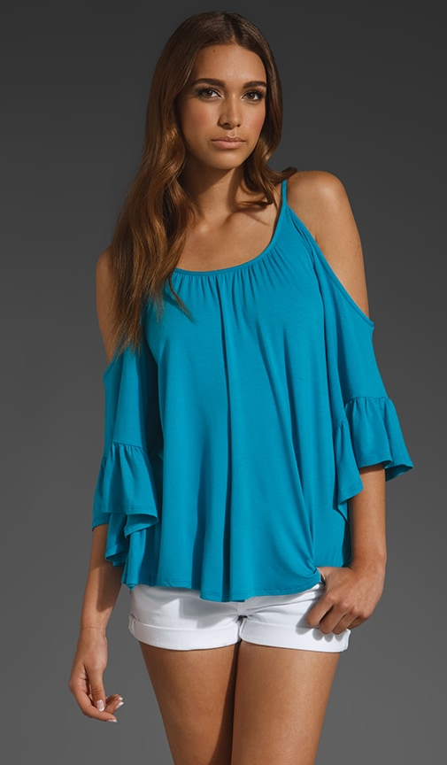 Angela Open Shoulder Top