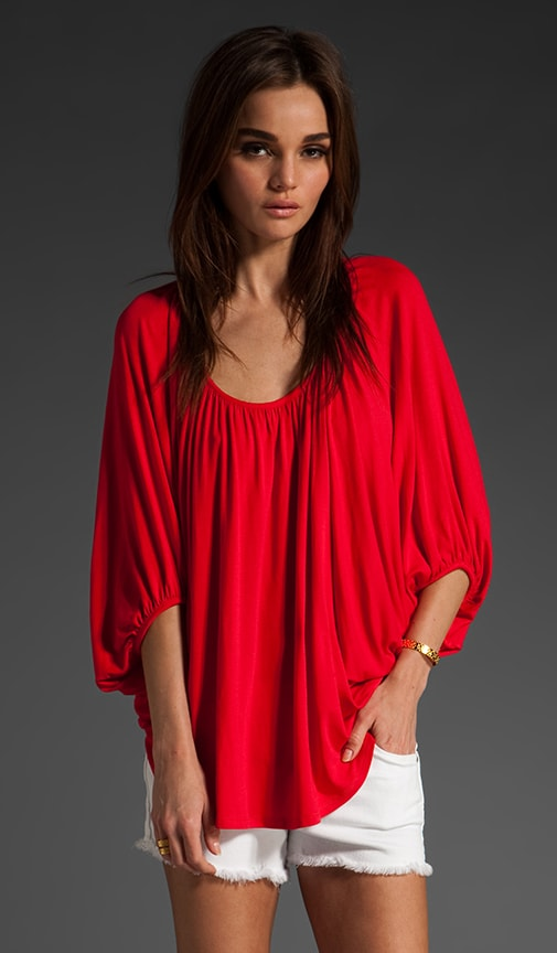 James Dolman Sleeve Top